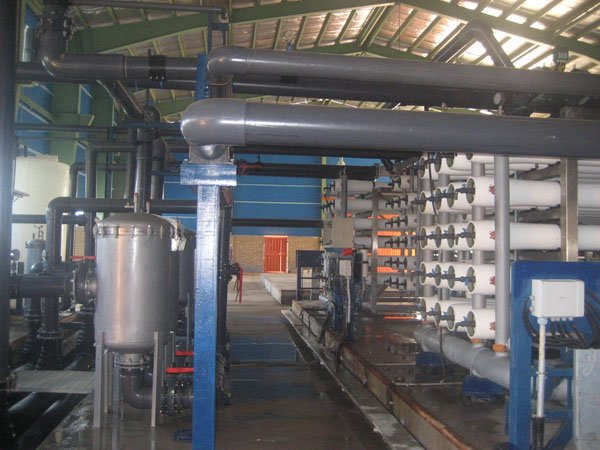 khoramshahr potable water treatment plant